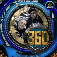 NICKY BLACKMARKET & FATMAN D – 360 DEGREES OF DRUM & BASS